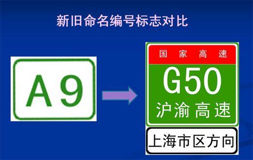 上海高速公路命名编号五大变化图示