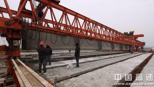 东海大桥现场施工