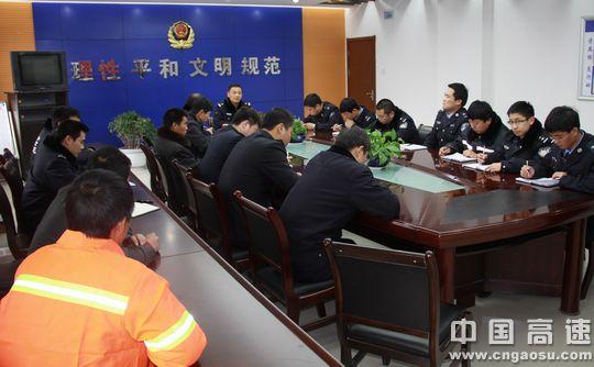 陕西:延靖高速安塞管理所联合延安高交宝塔中