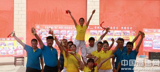 新疆:喀什公路管理局民族团结教育活动月丰富多彩