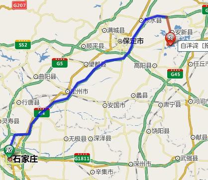 白洋淀自驾游路线白洋淀旅游交通(自驾车)北京,河南,内蒙,石家庄,邯郸