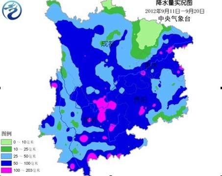 但是山东半岛南部的胶南和日照出现了强降雨.胶南下了394.