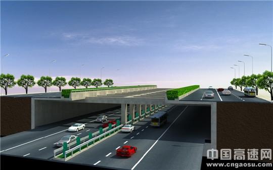 京港澳高速公路长沙黎托段下沉改造工程进展顺利 计划
